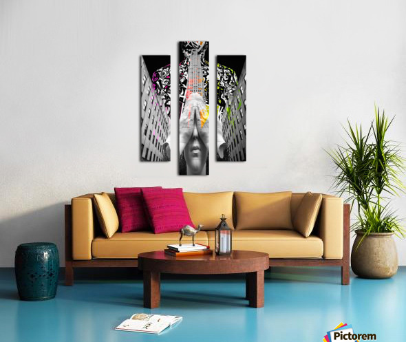 Rockefeller Center & Source Canvas print
