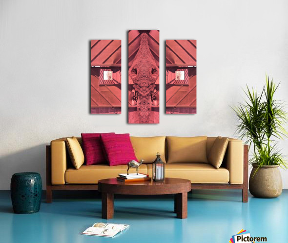 Creature of Red Canvas print
