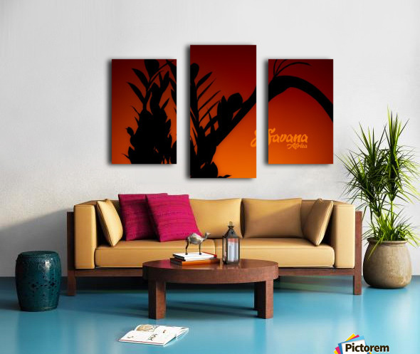Savana Africa Canvas print