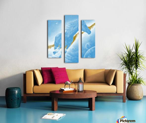 Celestial Horse Canvas print