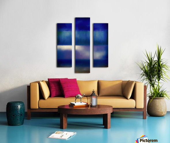 Color of the Blues Canvas print