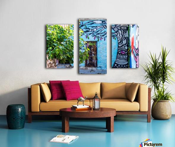 Doors & Windows 4 Canvas print