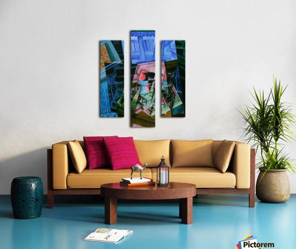 Juan Gris - Still Life before an Open Window Canvas print