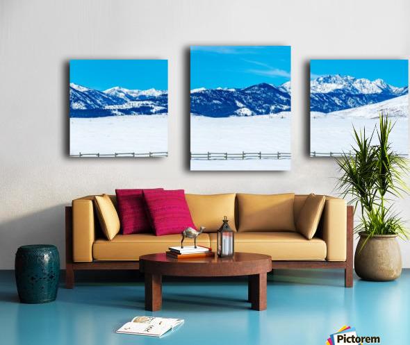 Mountain-Pano Canvas print