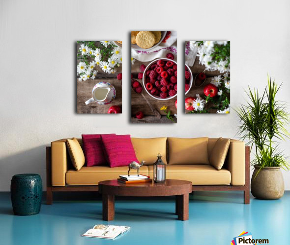 Apples Berries  Canvas print