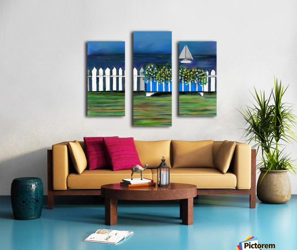 Seascape  Scene Canvas print