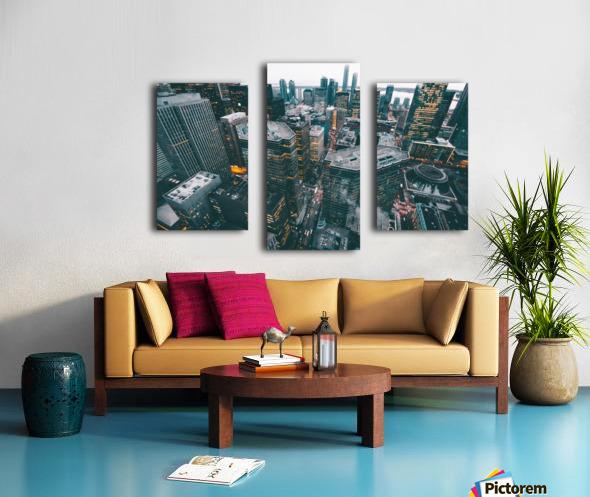 New York Architectural design Canvas print
