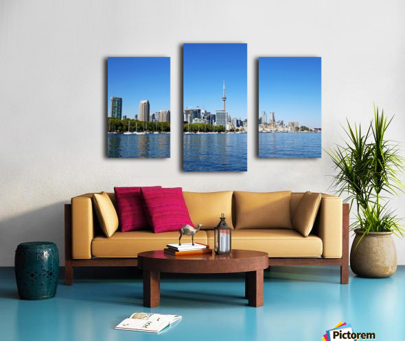 Toronto Harbourfront Canvas print