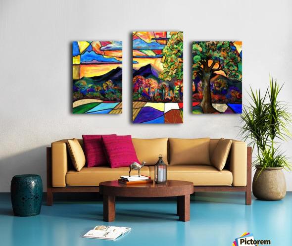 Mt Landscape Canvas print