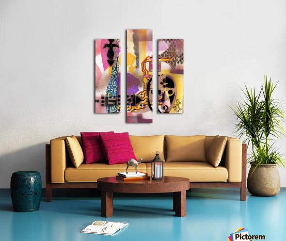 Cultural Remnant - g Canvas print