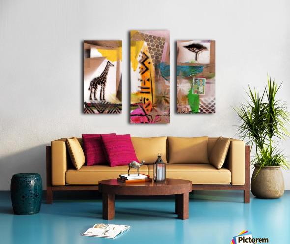 Cultural Remnant - M Canvas print
