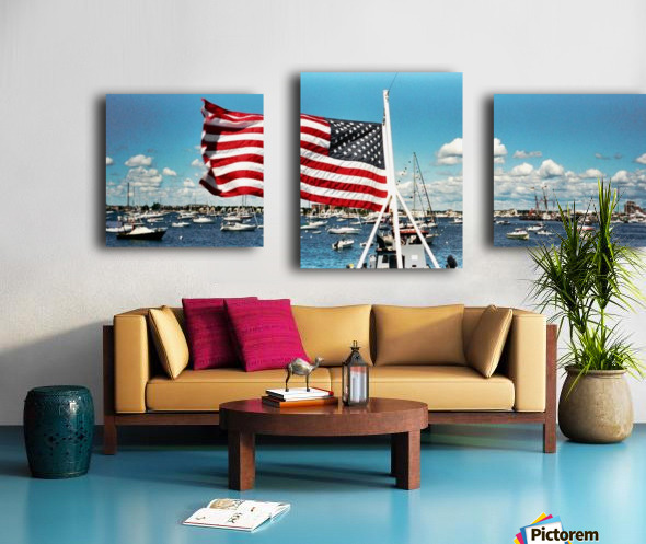 Newport Rhode Island - Harbor View Canvas print