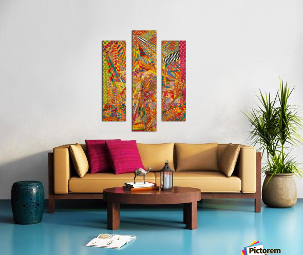 ABSTRACT SHAPES 12 Canvas print