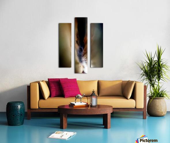 Abstract Macro Nature Photography 85 Canvas print
