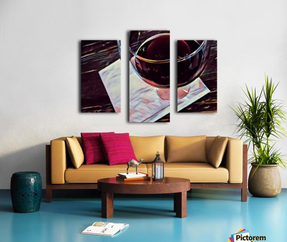 Wine Art Canvas print