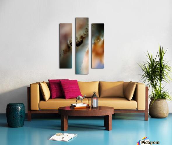 Abstract Macro Nature Photography 50 Canvas print