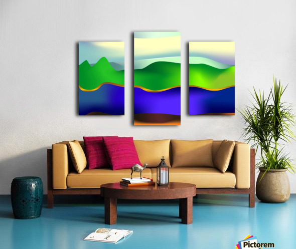 1-Serenity 1 Canvas print