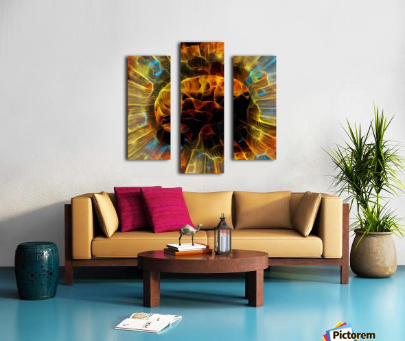 Power of Mind Canvas print
