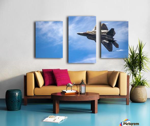 F-22 raptor Canvas print