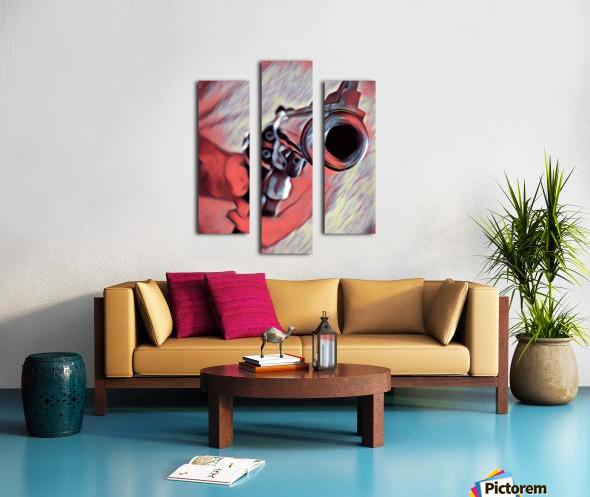 44 mag Art Canvas print