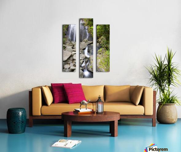 El Junque Waterfall Canvas print