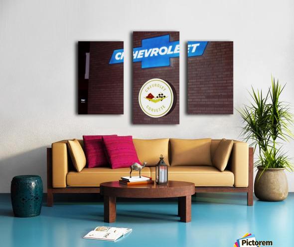 Chevrolet Corvette Bowling Green Kentucky Canvas print