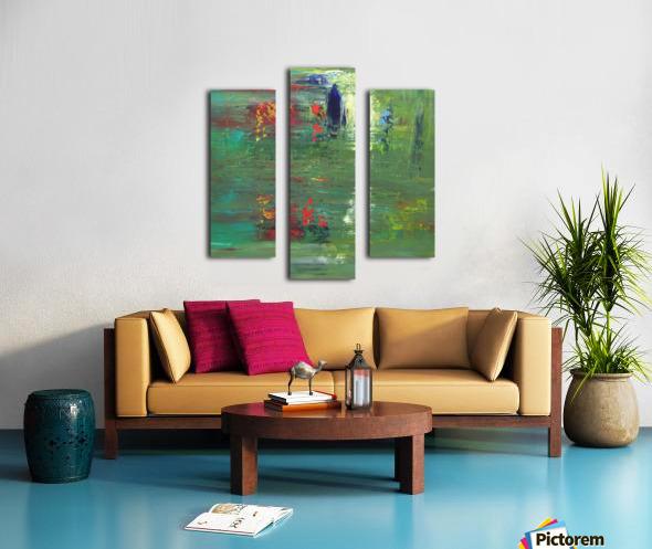 Réflexions Canvas print