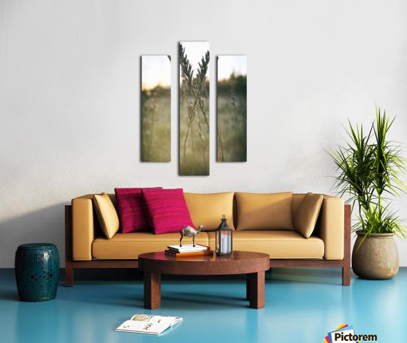 intertwined Canvas print