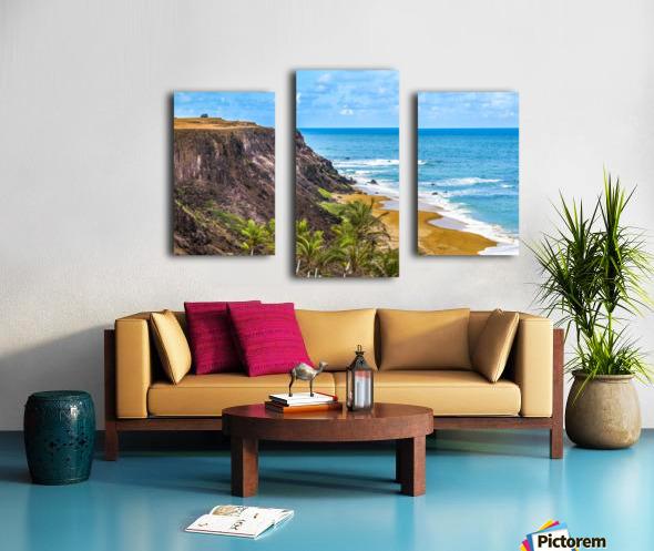 Praia Do Amor, Pipa   Brazil Canvas print