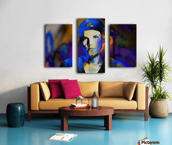 Avicii  Tim Bergling Abstract Portrait Canvas print