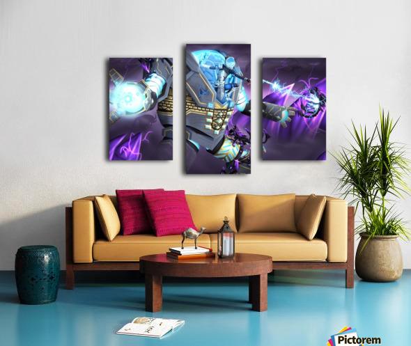 -Power Suit Fall- Impression sur toile