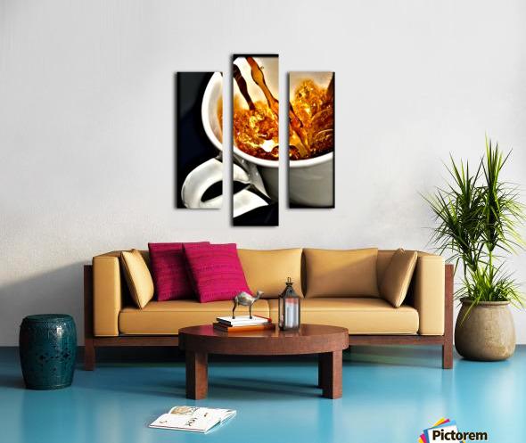 Coffee Pour  Canvas print