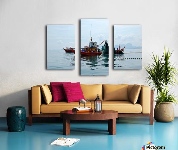 Bangkok - The Fisherman Canvas print