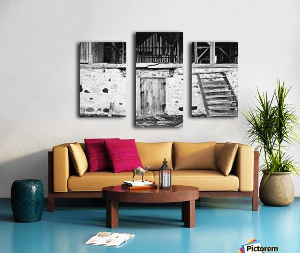 Barn Steps Canvas print