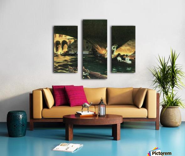 Rialto by John Singer Sargent Canvas print