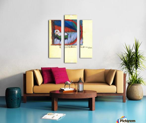 Vignette D by Franz Marc Canvas print