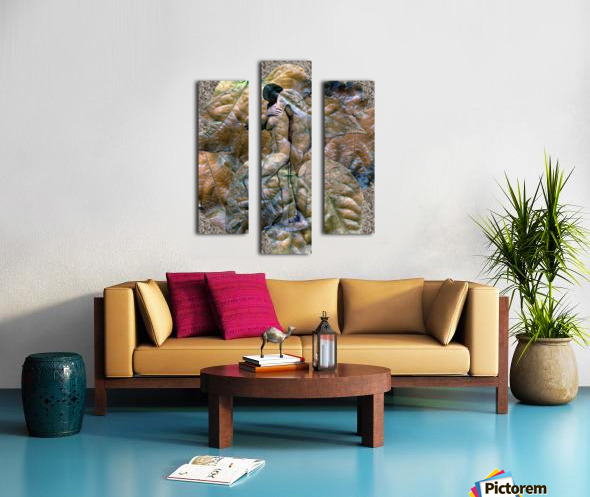 Sheltered Canvas print