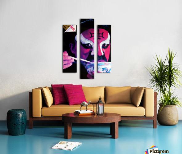 VAP - Chinese Actor Canvas print