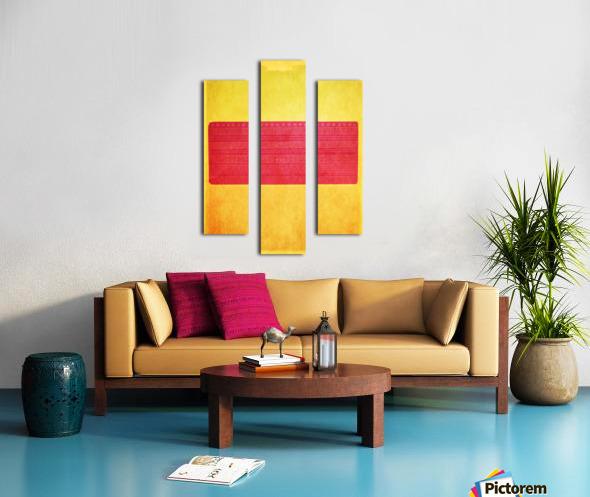 Redbox Canvas print