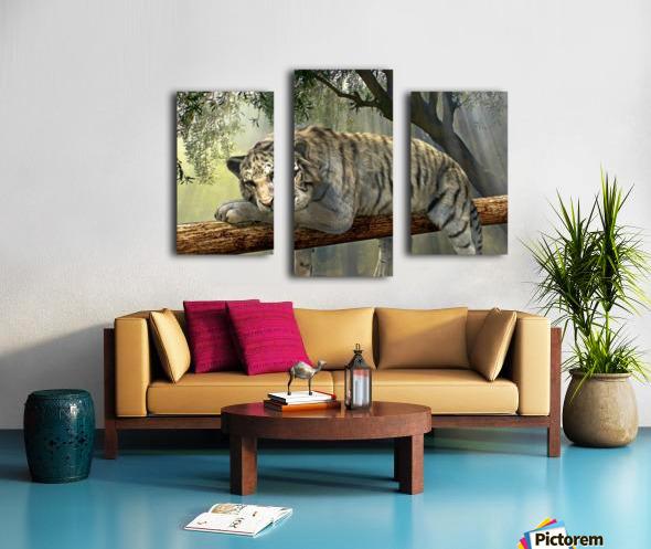 tiger animal jungle rainforest Canvas print