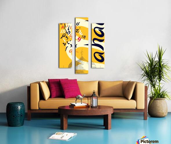 MAHAL Canvas print
