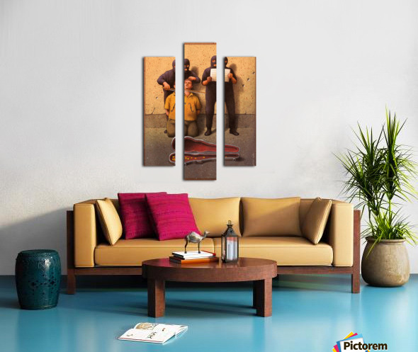 Violon Canvas print