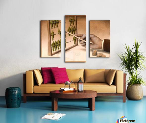 Abacus Impression sur toile