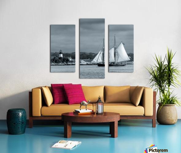 Harbor Cruise Canvas print