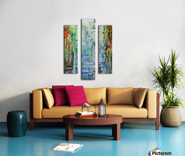 Dream Waterfall Canvas print