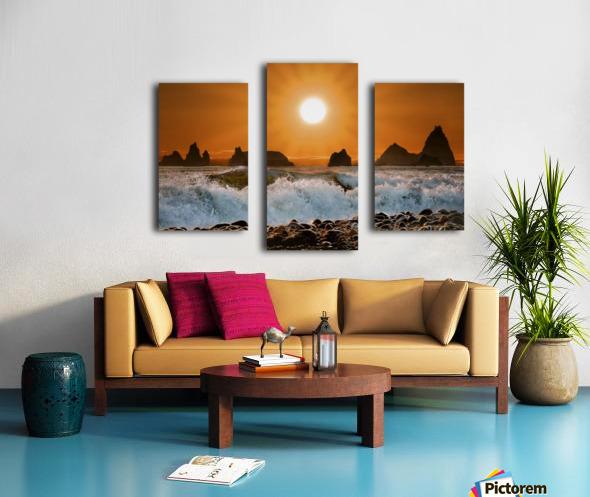 Sunset at Rialto Beach Canvas print