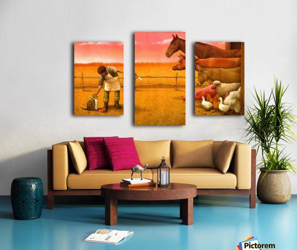 Pawel Kuczynski17 Canvas print