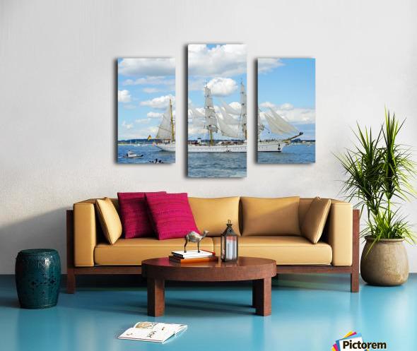 Tall Ships  Newport  Rhode Island Canvas print