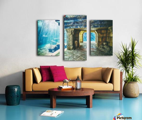 Atlantis Aquarium  Canvas print
