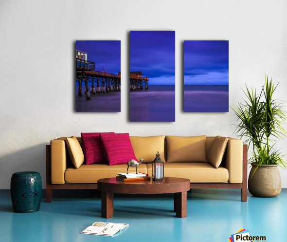 Pier at Dawn Canvas print